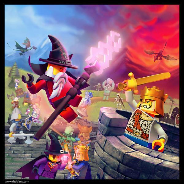 Lego: Castle by Emosktr