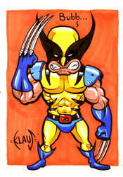 Wolverine of Xmen