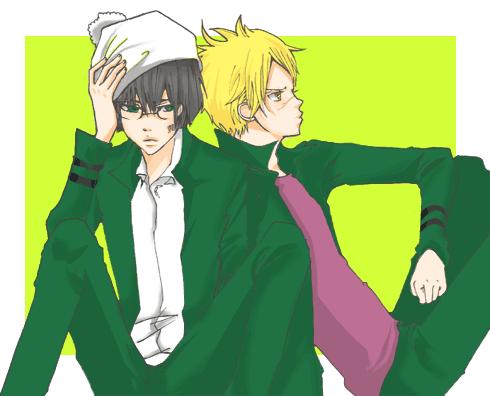 Kakipi and Ken by Natsuhati
