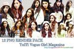 [#PNG RENDER]  YulTi Vogue Girl Magazine