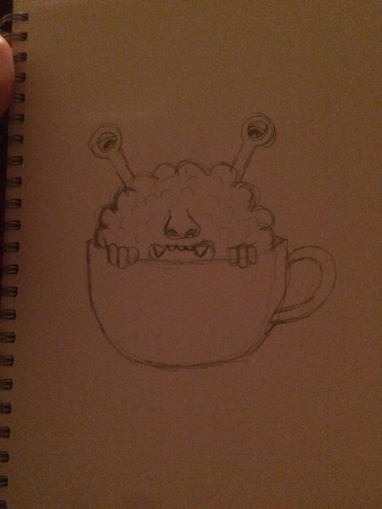Monster in a teacup by jables3000