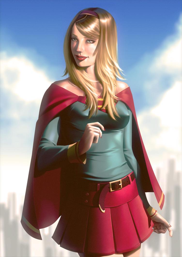 Super Girl by lenadrofranci