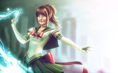 Sailor Jupiter by lenadrofranci