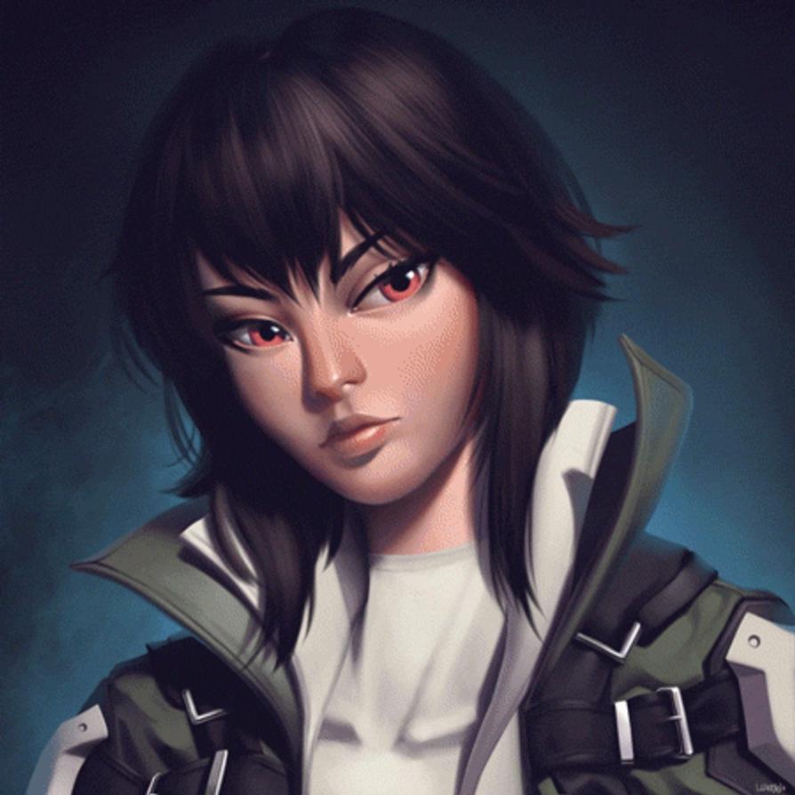 Major Motoko Kusanagi By Lenadrofranci On DeviantArt