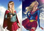 Supergirl Comparison