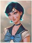 Sailor Mercury Portrait