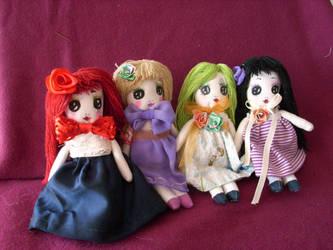Paoletta Maizza Lunnoire Dolls