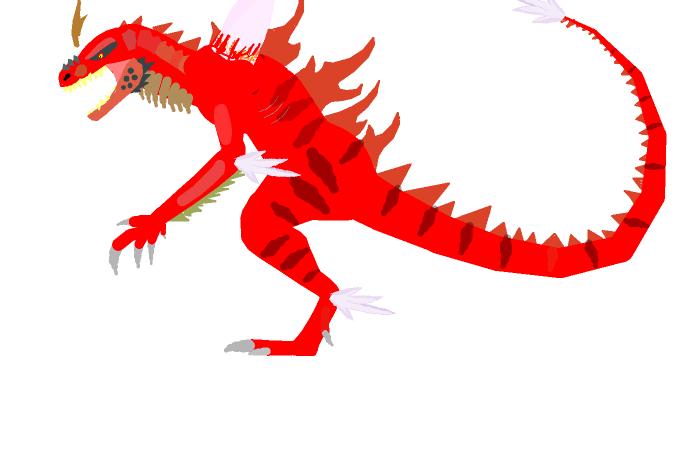ultimate Godzilla work in progress by Raptorfan1988