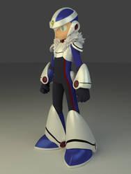 Mega Man Over-1 Model by PixelSpriteArt