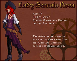 Lady Genesis Nova by Rogue-Skies