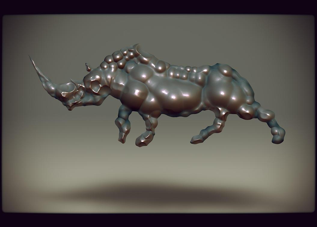 rhino by hypnothalamus