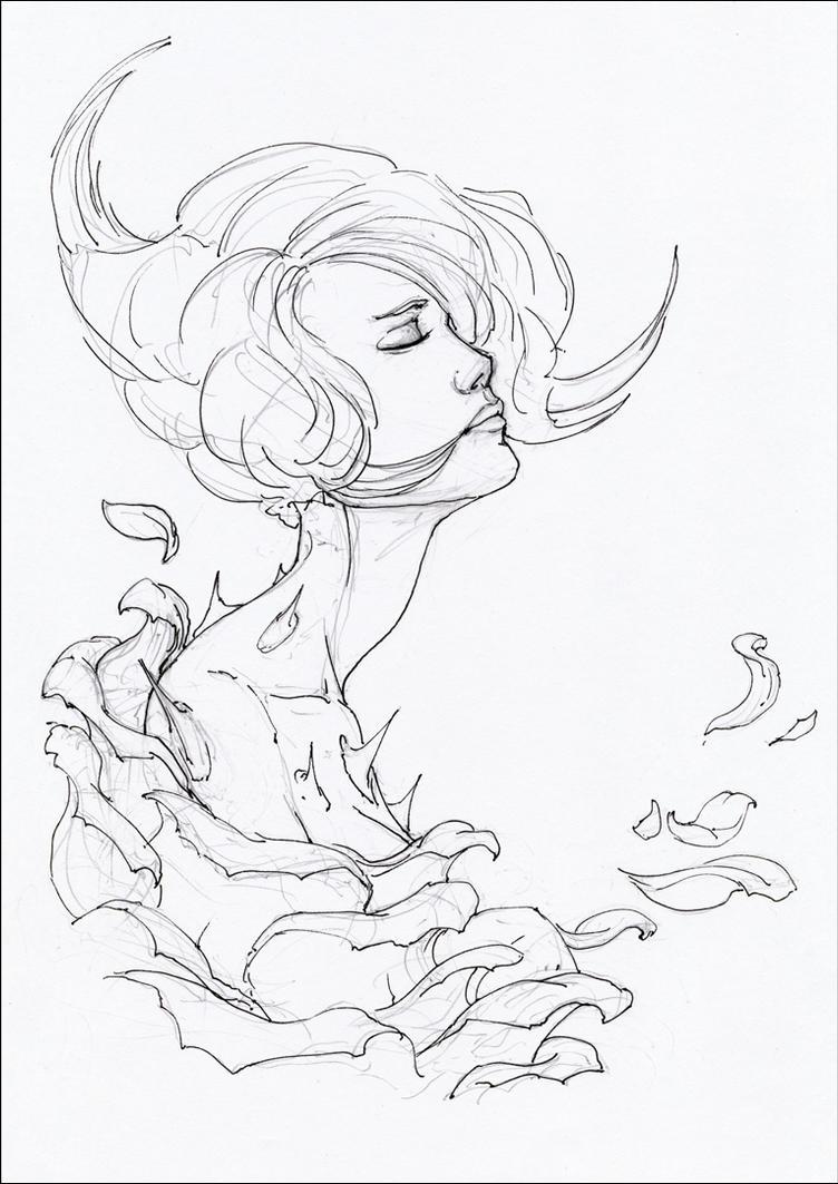 Rosa Aeterna (progress) by hypnothalamus