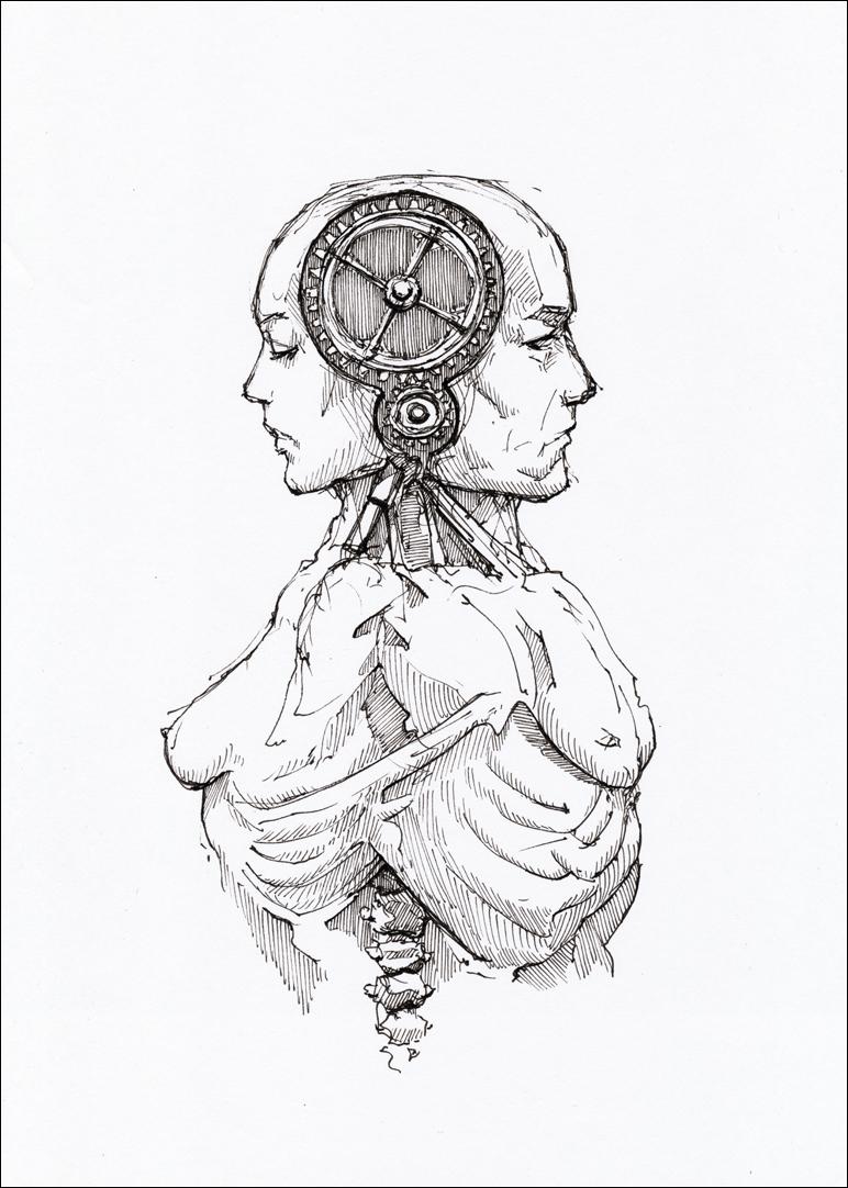 Homunculus by hypnothalamus