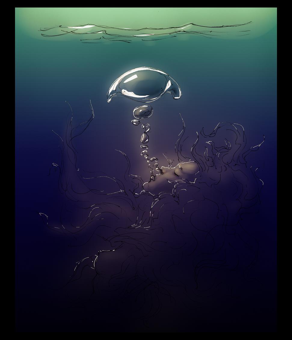 A Drowning by hypnothalamus