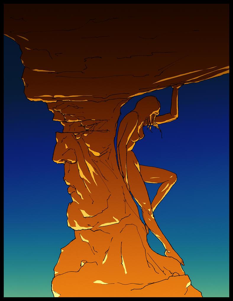 Irminsul. Le pilier du monde by hypnothalamus