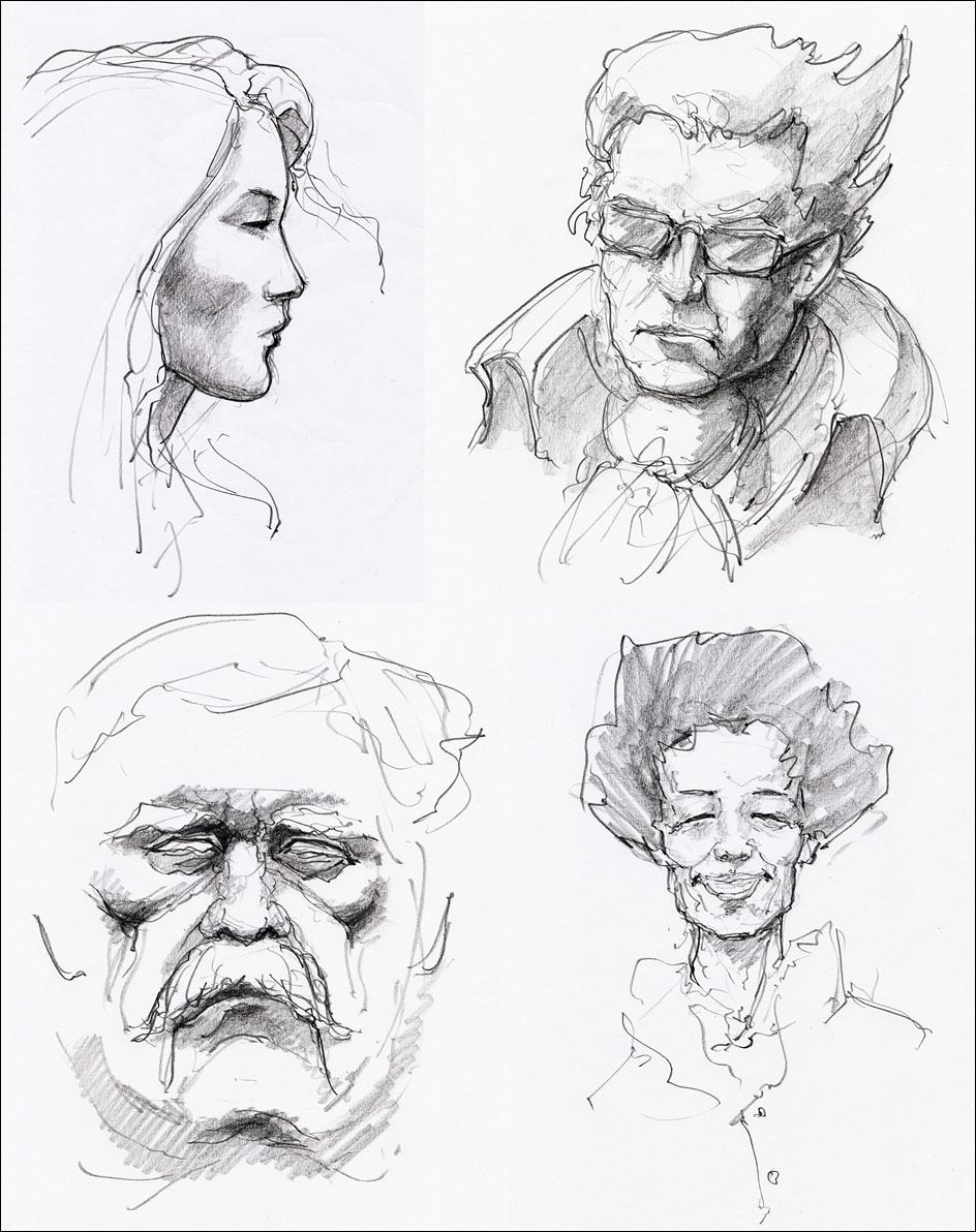 Portraits by hypnothalamus