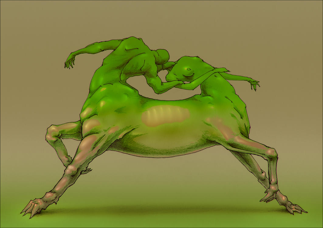 Homunculi. Evergreen by hypnothalamus