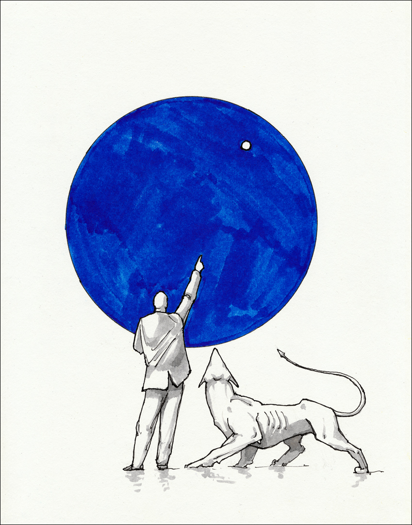 Sirius. The Dog Star. Gnomon by hypnothalamus