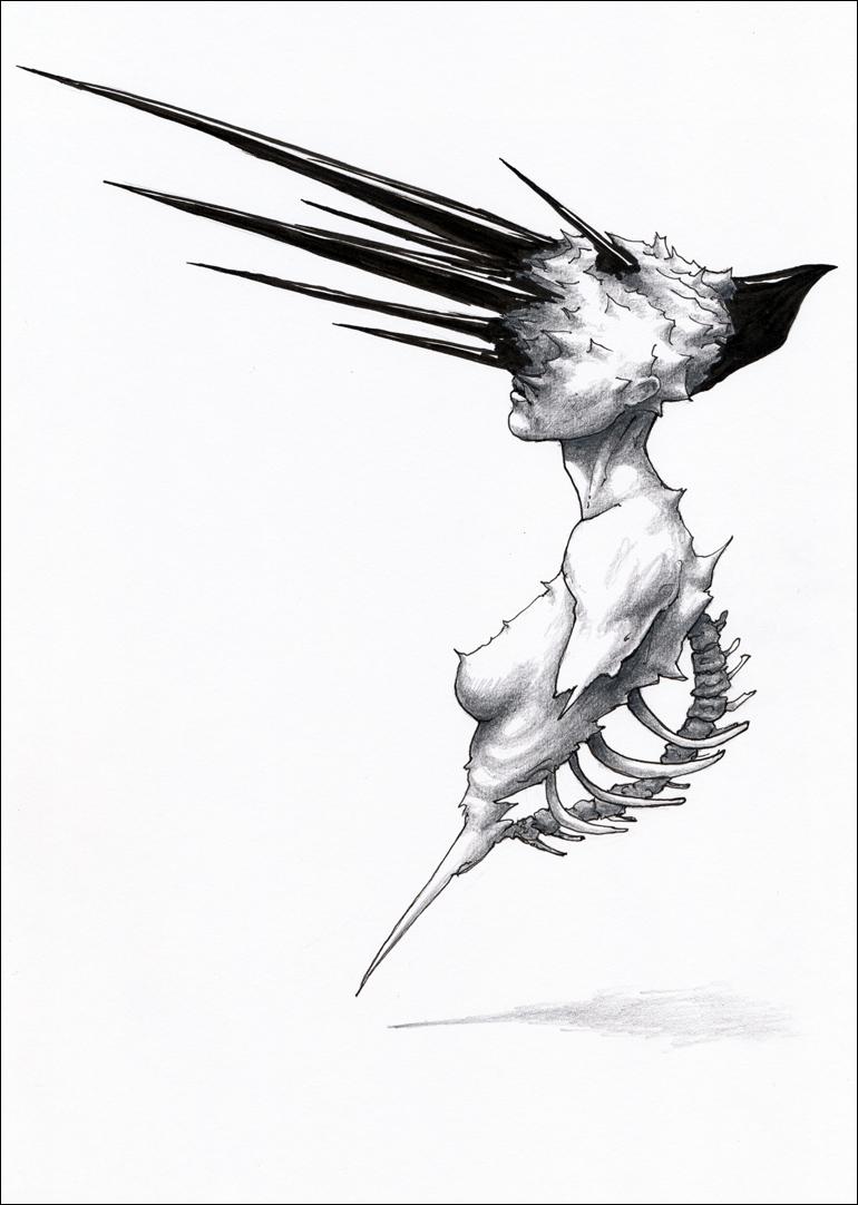 Narval. Metamorphoses by hypnothalamus
