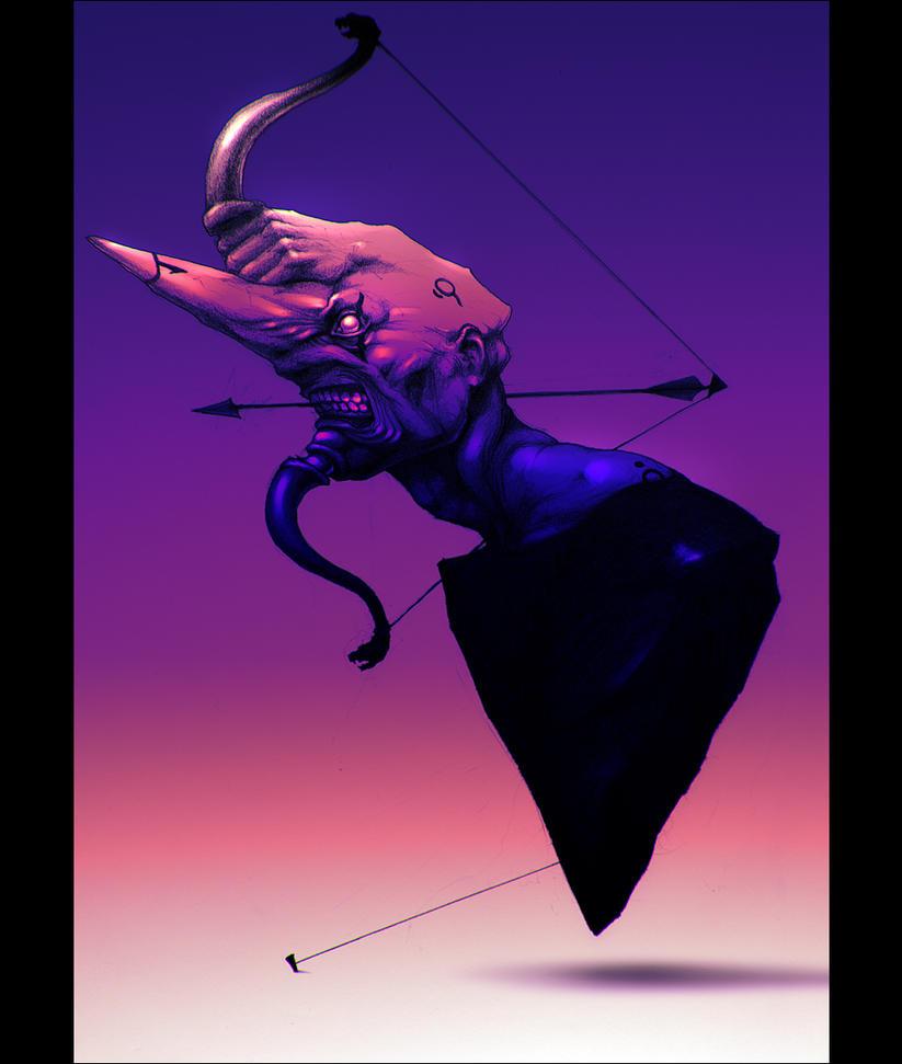 Sagittarius. Fragile tension by hypnothalamus