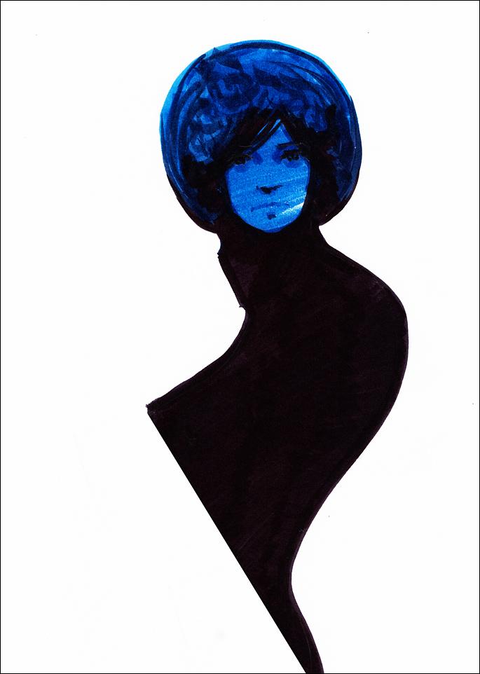 Blue Pariah by hypnothalamus
