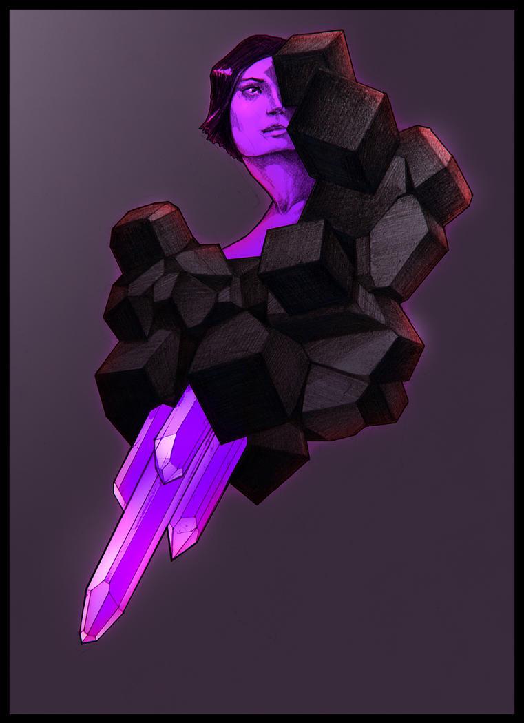 Crystal skin by NegativeFeedback