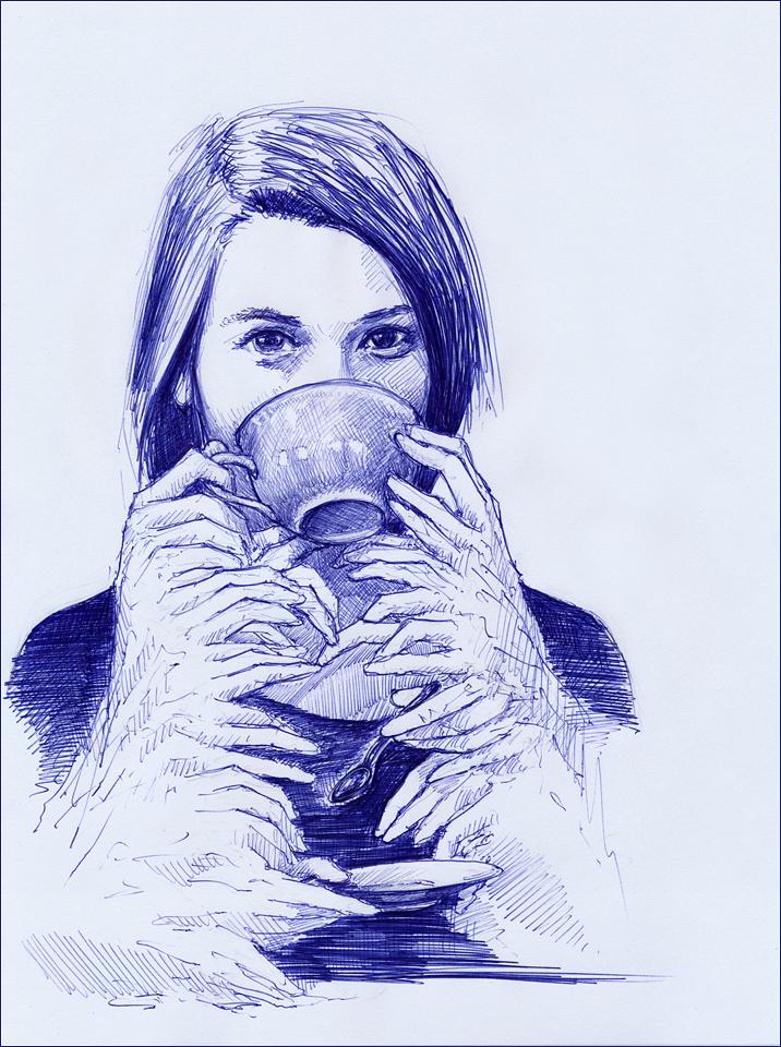 Beksinskian tea for abyssal mind by hypnothalamus