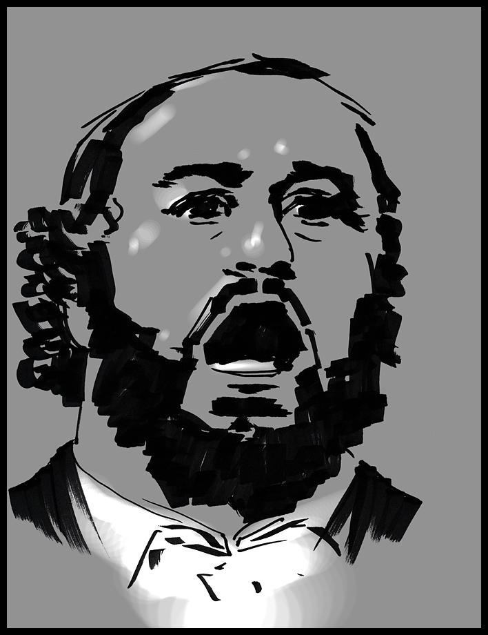 Pavarotti. Da sta terra de l'ammore by hypnothalamus