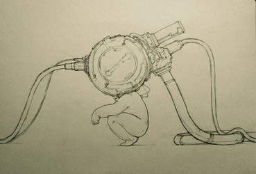 Technomancer. Precog by hypnothalamus