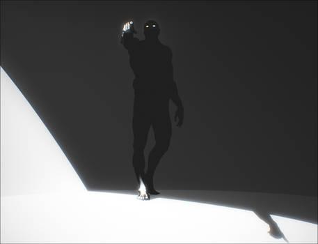 Erebus. In the shadows