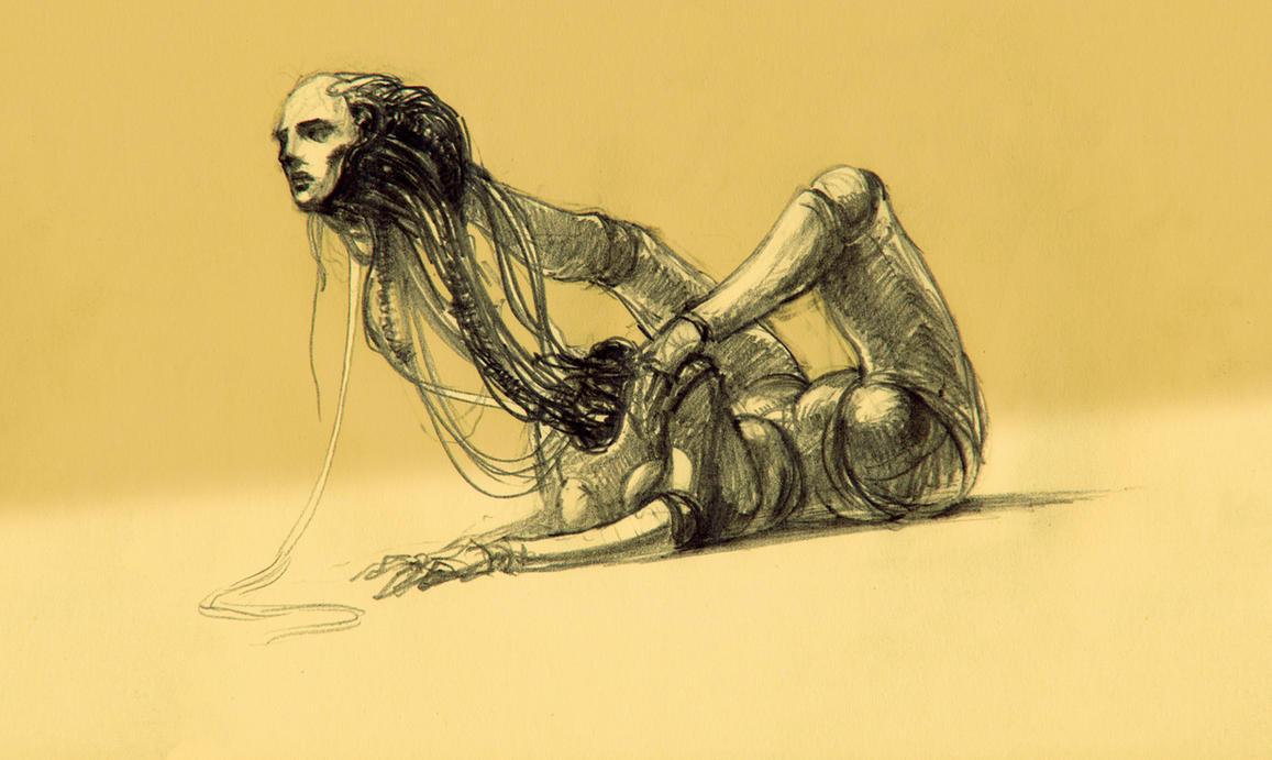 Sphinx. Cogito ergo sum by hypnothalamus