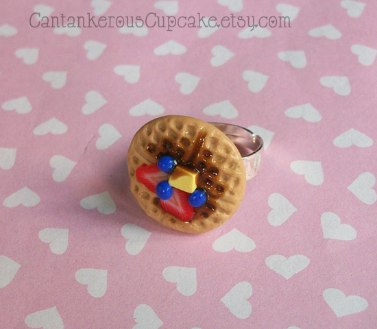 Waffle Ring by CantankerousCupcake