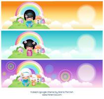 Kokeshi Igoogle Theme by minercia