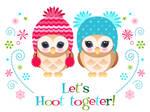 Owl Holiday card 3