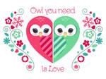 Owl Holiday card 5
