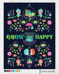 Grow Happy Little Terrarium