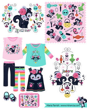 Lil' Stinker Children's apparel