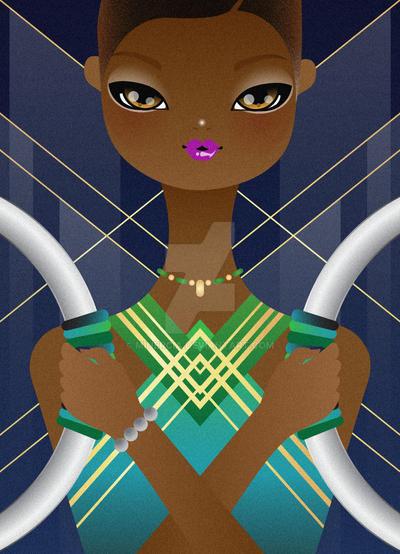 Nakia By Lupita Nyong'o by minercia