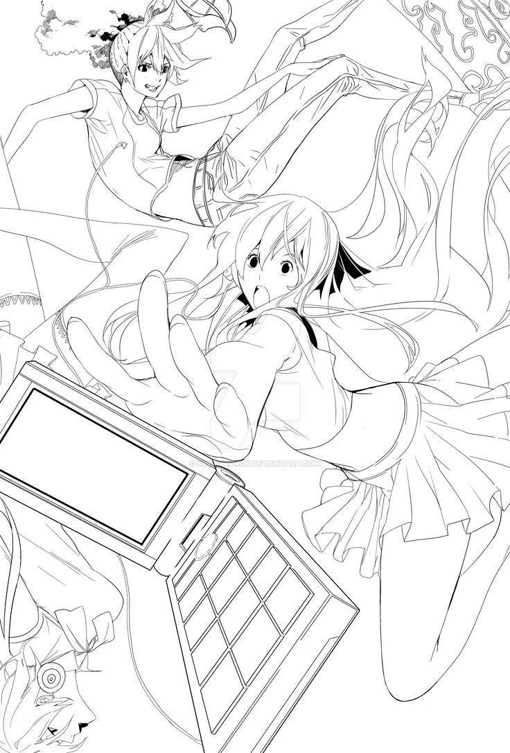 KFS Girls Kickstarter Print WIP by King-Taurus