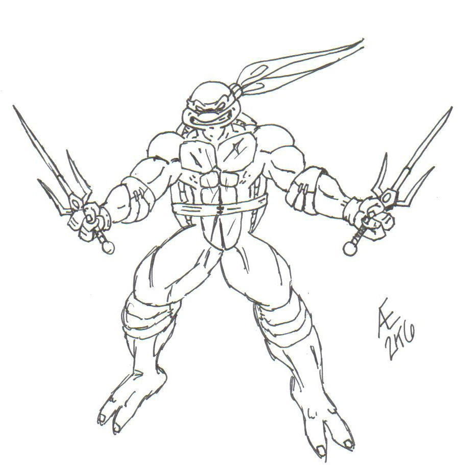 image gallery of raphael ninja turtle 2017 drawing