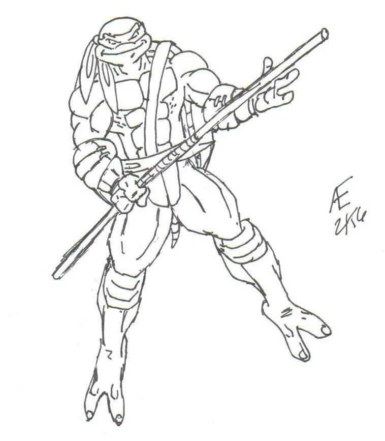 Donatello, the Ninja Turtle by King-Taurus on DeviantArt