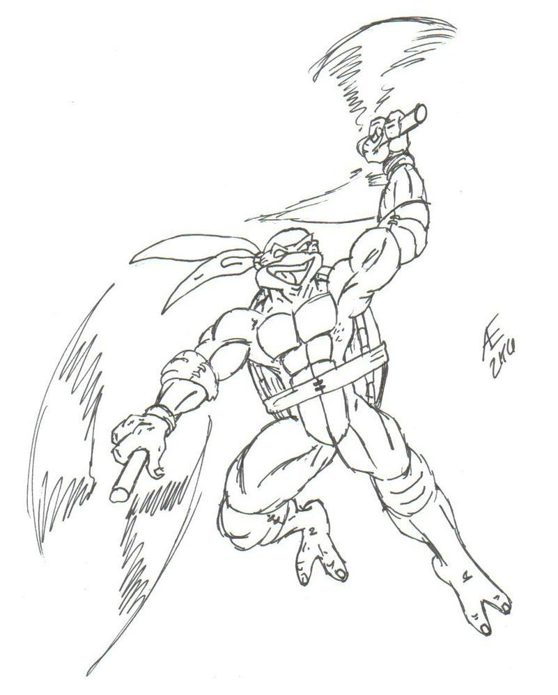 Michelangelo, the Ninja Turtle by King-Taurus on DeviantArt
