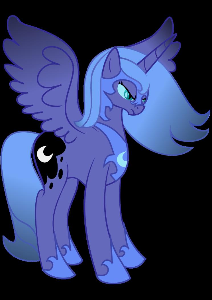 Princess Luna turns into Nightmare Moon by ...