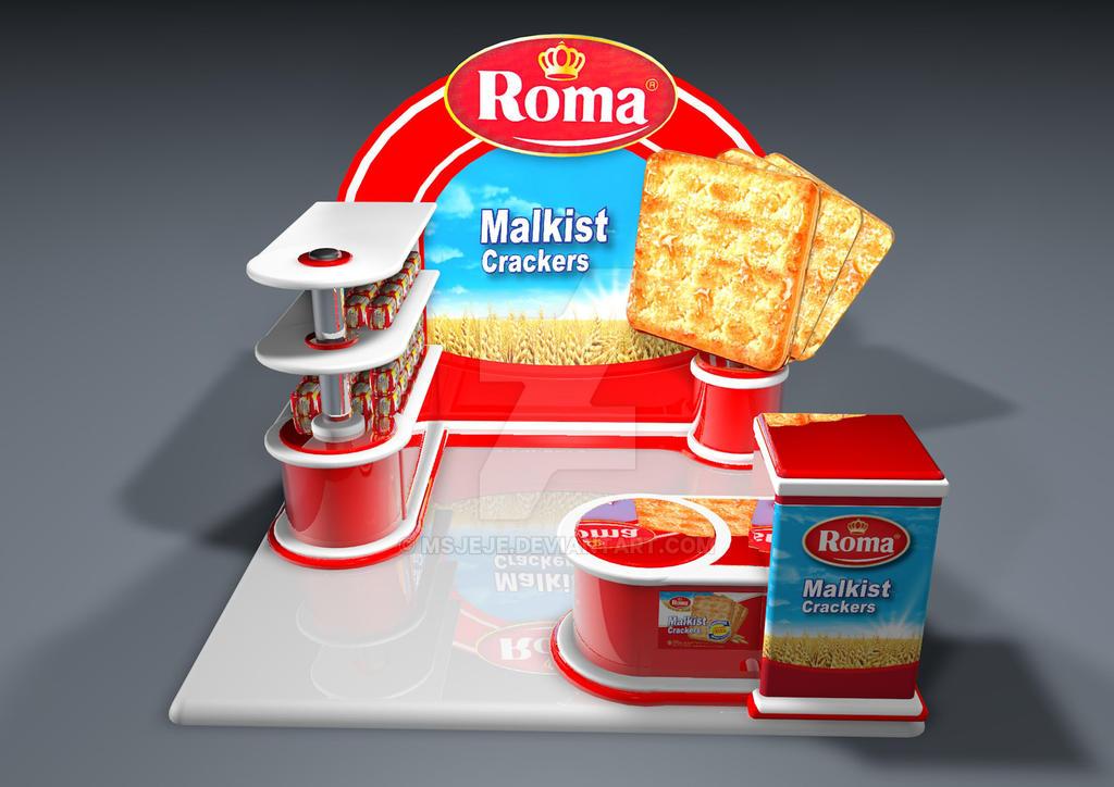 Booth Biskuit Roma By Msjeje On Deviantart