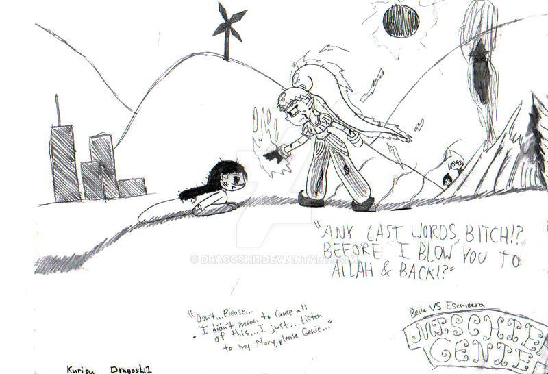 MG: Bella vs Esemeera by Dragoshi1