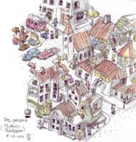 Watercolour Study - The Present