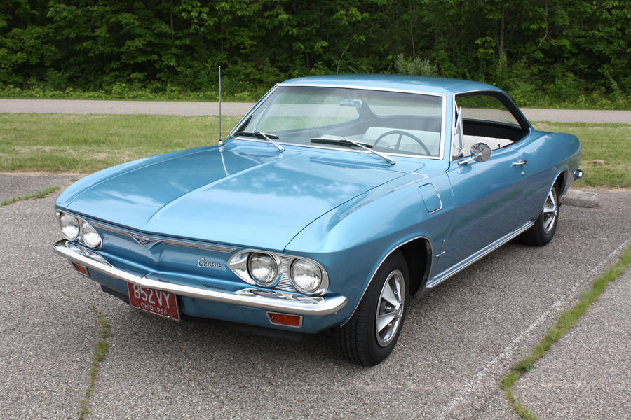 1966 Chevy Corvair Coupe By Aibrean On Deviantart