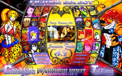 Warrior Bout 2 (Fighter Select) by CylnX