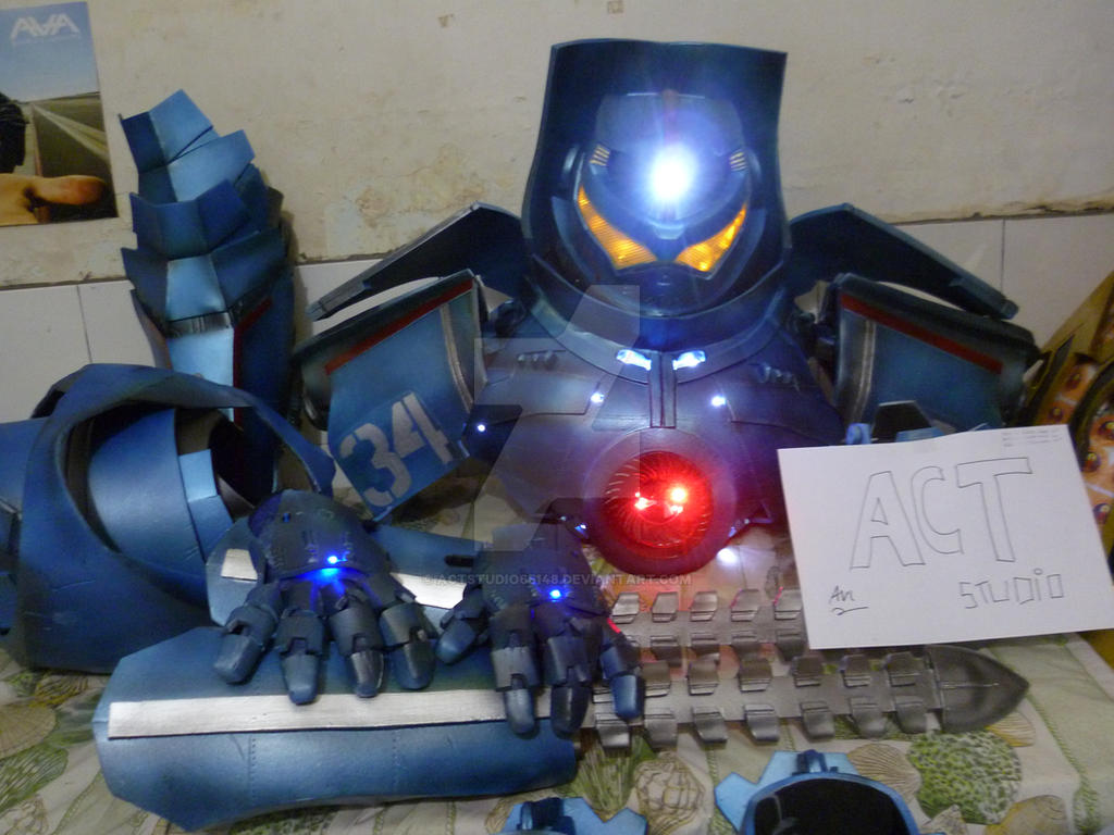 gipsy danger (pacific rim) commissions done^^ by actstudio65148