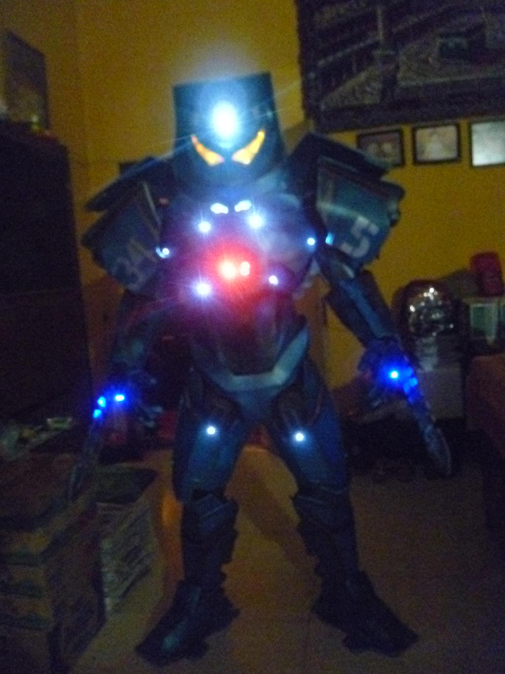 gipsy danger (pacific rim) light test by actstudio65148